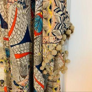 "Look Other - ""Look"" Printed Kimono EUC"